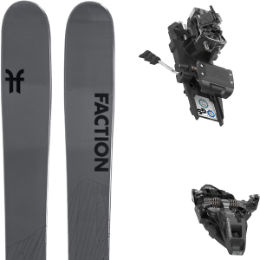 Pack ski FACTION FACTION AGENT 2.0 21 + DYNAFIT ST ROTATION 10 105MM BLACK KS 21 - Ekosport