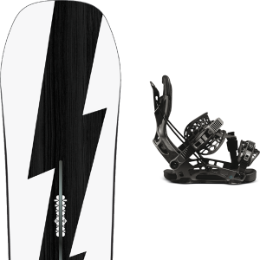 BU Ski Alpin BURTON BURTON CUSTOM NO COLOR 21 + FLOW NX2-CX HYBRID GRAPHITE 21 - Ekosport