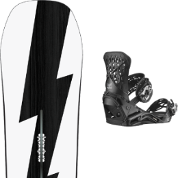 Boutique BURTON BURTON CUSTOM NO COLOR 21 + SALOMON HIGHLANDER BLACK 21  - Ekosport