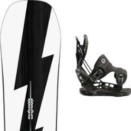 Snowboard BURTON BURTON CUSTOM NO COLOR 21 + FLOW NX2-GT FUSION BLACK 21 - Ekosport