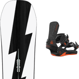 BU Ski Alpin BURTON BURTON CUSTOM NO COLOR 21 + UNION ATLAS FC BLACK 21 - Ekosport