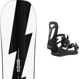 BU SKI BURTON BURTON CUSTOM NO COLOR 21 + UNION FALCOR BLACK 21 - Ekosport