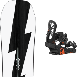 BU SKI BURTON BURTON CUSTOM NO COLOR 21 + UNION ATLAS BLACK 21 - Ekosport