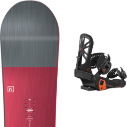 Snowboard NITRO NITRO TEAM 21 + UNION ATLAS BLACK 21 - Ekosport