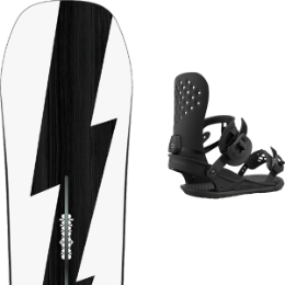 Snowboard BURTON BURTON CUSTOM NO COLOR 21 + UNION STRATA BLACK 21 - Ekosport