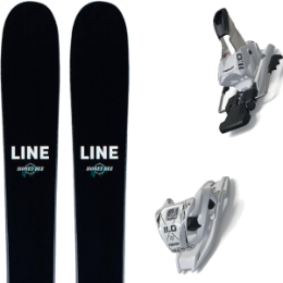 Pack ski LINE LINE HONEY BEE 21 + MARKER 11.0 TCX WHITE 20 - Ekosport