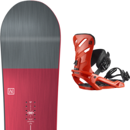 BU Ski Alpin NITRO NITRO TEAM 21 + SALOMON RHYTHM RED 21 - Ekosport