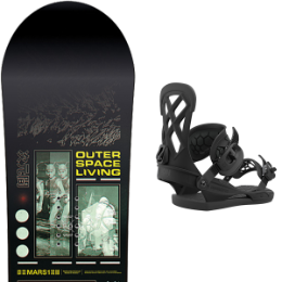 BU SKI CAPITA CAPITA OUTERSPACE LIVING 21 + UNION CONTACT PRO BLACK 21 - Ekosport