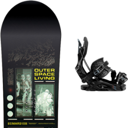 CAPITA OUTERSPACE LIVING 21 + FLOW FUSE HYBRID BLACK 21