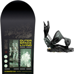 CAPITA OUTERSPACE LIVING 21 + FLOW FUSE-GT FUSION BLACK 21