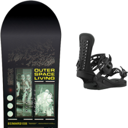 Boutique CAPITA CAPITA OUTERSPACE LIVING 21 + UNION FORCE BLACK 21  - Ekosport