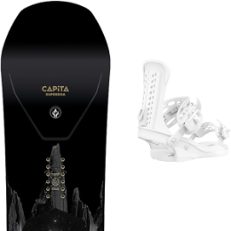 BU SKI CAPITA CAPITA SUPER D.O.A. 21 + UNION FORCE WHITE 21  - Ekosport