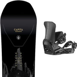 BU SKI CAPITA CAPITA SUPER D.O.A. 21 + SALOMON DISTRICT BLACK 21  - Ekosport