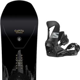 Boutique CAPITA CAPITA SUPER D.O.A. 21 + SALOMON HOLOGRAM BLACK 21  - Ekosport