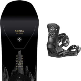 Boutique CAPITA CAPITA SUPER D.O.A. 21 + SALOMON HIGHLANDER BLACK 21  - Ekosport