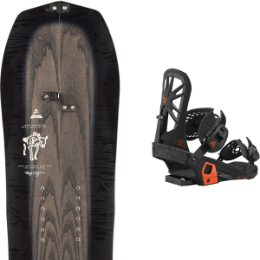 Splitboard ARBOR ARBOR BRYAN IGUCHI PRO SPLITBOARD 21 + UNION EXPEDITION FC BLACK 21 - Ekosport