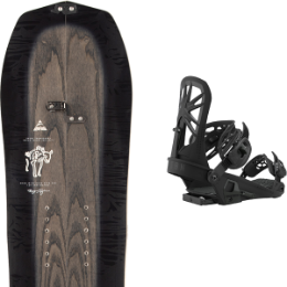 Splitboard ARBOR ARBOR BRYAN IGUCHI PRO SPLITBOARD 21 + UNION EXPEDITION BLACK 21 - Ekosport