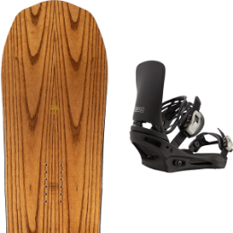 Boutique ARBOR ARBOR ELEMENT ROCKER 21 + BURTON CARTEL BLACK 21  - Ekosport
