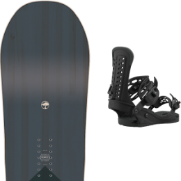 Snowboard ARBOR ARBOR FOUNDATION 21 + UNION FORCE BLACK 21  - Ekosport