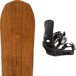 Boutique ARBOR ARBOR ELEMENT CAMBER 21 + BURTON CARTEL BLACK 21  - Ekosport
