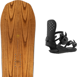 Snowboard ARBOR ARBOR ELEMENT ROCKER 21 + UNION STRATA BLACK 21 - Ekosport