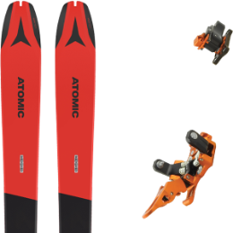Pack ski ATOMIC ATOMIC BACKLAND 78 RED/GREY 21 + PLUM OAZO 8 21 - Ekosport