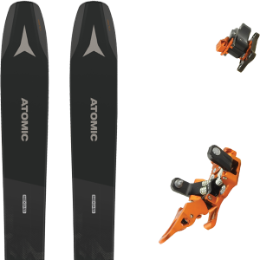 Pack ski ATOMIC ATOMIC BACKLAND 107 BLACK/GREY 21 + PLUM OAZO 8 21 - Ekosport