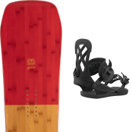 Snowboard ARBOR ARBOR WESTMARK CAMBER FRANK APRIL 21 + UNION CONTACT PRO BLACK 21 - Ekosport
