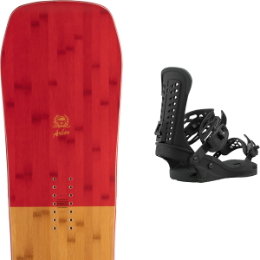 Snowboard ARBOR ARBOR WESTMARK CAMBER FRANK APRIL 21 + UNION FORCE BLACK 21  - Ekosport