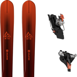 Pack ski SALOMON SALOMON MTN EXPLORE 88 RED/BLACK 21 + ATK C-RAIDER 12 91MM 21 - Ekosport
