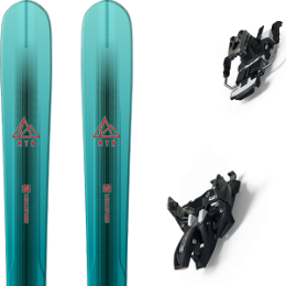 Pack ski SALOMON SALOMON MTN EXPLORE 88 W BL/TQ 21 + MARKER ALPINIST 12 LONG TRAVEL 90MM BLACK/TITANIUM 20 - Ekosport