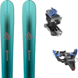 Pack ski SALOMON SALOMON MTN EXPLORE 88 W BL/TQ 21 + DYNAFIT SPEED RADICAL BLUE 21 - Ekosport