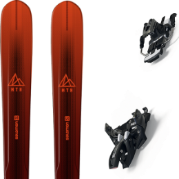Pack ski SALOMON SALOMON MTN EXPLORE 88 RED/BLACK 21 + MARKER ALPINIST 12 LONG TRAVEL 90MM BLACK/TITANIUM 20 - Ekosport