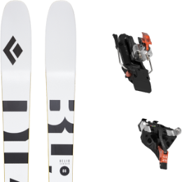 Pack ski BLACK DIAMOND BLACK DIAMOND HELIO CARBON 88 21 + ATK C-RAIDER 12 91MM 21 - Ekosport