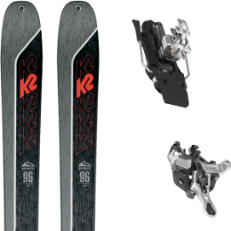 Pack ski K2 K2 WAYBACK 96 21 + ATK R12 - 97MM WHITE 21 - Ekosport