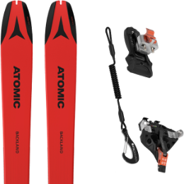 Pack ski ATOMIC ATOMIC BACKLAND 78 UL RED/BLACK 21 + ATK RELEASE 10 21 - Ekosport