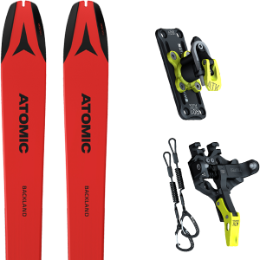 Pack ski ATOMIC ATOMIC BACKLAND 78 UL RED/BLACK 21 + ATK TROFEO PLUS 8 21 - Ekosport