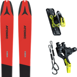 Pack ski ATOMIC ATOMIC BACKLAND 78 RED/GREY 21 + ATK TROFEO PLUS 8 21 - Ekosport