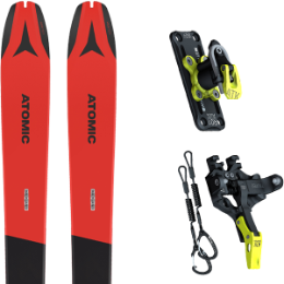 Pack ski ATOMIC ATOMIC BACKLAND 78 RED/GREY 21 + ATK TROFEO PLUS 10 21 - Ekosport