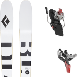 Pack ski BLACK DIAMOND BLACK DIAMOND HELIO CARBON 88 21 + ATK CREST 10 - 91MM 21 - Ekosport