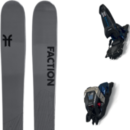 BU Fond / Rando FACTION FACTION AGENT 2.0 21 + MARKER DUKE PT 16 100MM BLACK/GUNMETAL 21 - Ekosport