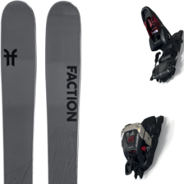 Pack ski FACTION FACTION AGENT 2.0 21 + MARKER DUKE PT 12 100MM BLACK/RED 21 - Ekosport