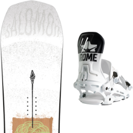 SALOMON ASSASSIN 20 + ROME D.O.D. G2 WHITE LOGO 20