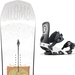 Snowboard SALOMON SALOMON ASSASSIN 20 + RIDE LTD BLACK 20 - Ekosport