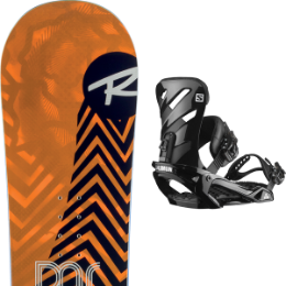 Snowboard ROSSIGNOL ROSSIGNOL DISTRICT 20 + SALOMON RHYTHM BLACK 20 - Ekosport