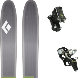 Pack ski BLACK DIAMOND BLACK DIAMOND HELIO 116 20 + FISCHER TOUR SPEED TURN W/O BRAKE 19 - Ekosport