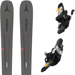 Pack ski ATOMIC ATOMIC VANTAGE 90 TI GREY/RED 21 + FRITSCHI TECTON 12 90MM 21 - Ekosport