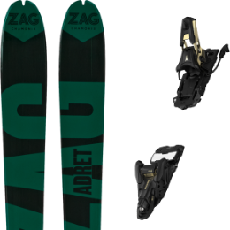 Pack ski ZAG ZAG ADRET 81 20 + ATOMIC SHIFT 13 MNC N BLACK/GOLD 90 21 - Ekosport