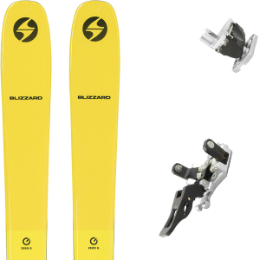 BLIZZARD ZERO G 085 YELLOW 22 + PLUM GUIDE 12 GRIS 21