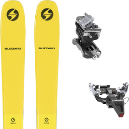 BLIZZARD ZERO G 085 YELLOW 22 + DYNAFIT SPEED RADICAL SILVER 21